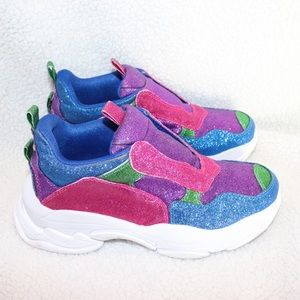 NWOT Jeffrey Campbell Lo-fi Glitter Shoes